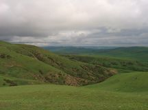 Mountains in Baku stock image