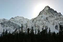 Mountains of Banff Stock Photography