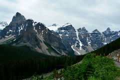 Mountains of Banff Alberta,Canada. Royalty Free Stock Image