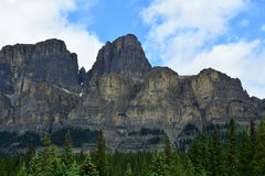 Mountains of Banff Alberta,Canada. Royalty Free Stock Photos
