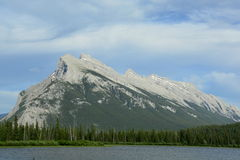 Mountains of Banff Alberta,Canada. Stock Photography