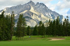 Mountains of Banff Alberta, Canada Stock Photo