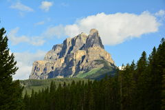 Mountains of Banff Alberta,Canada. Stock Photos