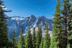 Banff national park, Alberta, Canada. Royalty Free Stock Photo