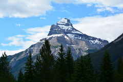 Mountains of Banff National Park. Royalty Free Stock Image