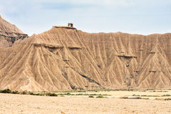 Mountains in Bardenas Reales, Navarra, Spain Royalty Free Stock Image