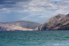 Mountains in Baska Royalty Free Stock Photo
