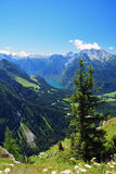 Mountains in Bavaria.Germany. Stock Photo