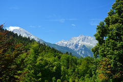 Mountains in Bavaria.Germany. Royalty Free Stock Photography