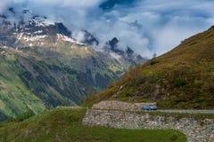 Mountains. Beautiful Austrian mountains and mountains way Royalty Free Stock Photos