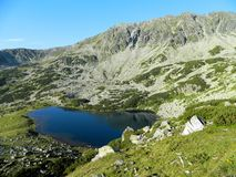 Mountains. Beautiful Lake In Retezat Mountains Romania Royalty Free Stock Images