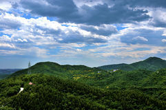 Mountains in Beijing Stock Image