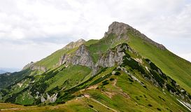 Mountains Belianske Tatry, Slovakia, Europe Royalty Free Stock Image