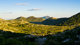 Mountains of Biokovo national park in Croatia Royalty Free Stock Photos
