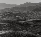 Mountains. Black and white tone stock images