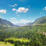 Mountains and blue sky Stock Photography