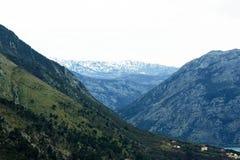 Mountains in Boka Bay Stock Photos