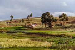 Mountains of Bolivia, altiplano royalty free stock image