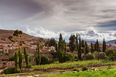 Mountains of Bolivia, altiplano Stock Photo