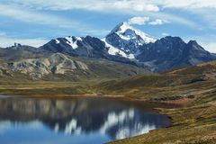Mountains in Bolivia Royalty Free Stock Photos