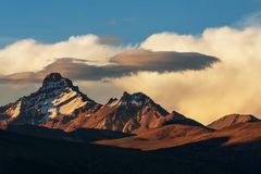 Mountains in Bolivia Royalty Free Stock Images