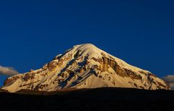 Mountains in Bolivia Royalty Free Stock Photo