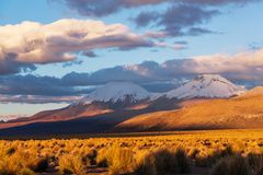 Mountains in Bolivia Royalty Free Stock Image