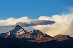 Mountains in Bolivia Royalty Free Stock Photography