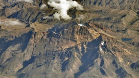 Mountains in Bolivian Altiplano, South America. Royalty Free Stock Image