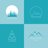 Mountains in box. Stock Images