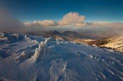 Mountains. Called Mala Fatra - Vratna in Slovakia Stock Images