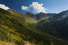 Mountains. Called Rohace in High Tatras in Slovakia Royalty Free Stock Photo