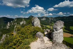 Mountains. Called Sulovske skaly in Slovakia Stock Photography