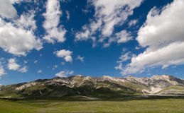 Mountains at Campo Imperatore Stock Photo