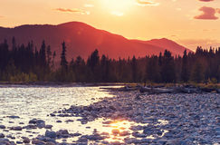 Mountains in Canada Royalty Free Stock Photography