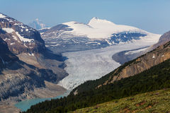 Mountains in Canada Stock Photo