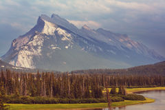Mountains in Canada Stock Images