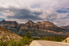 Mountains in Canada Royalty Free Stock Photos