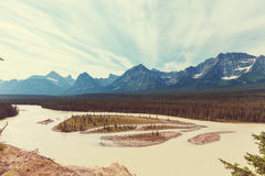 Mountains in Canada Royalty Free Stock Image