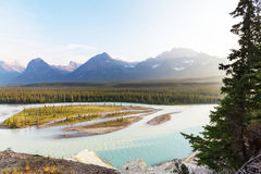 Mountains in Canada Stock Photography