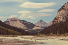 Mountains in Canada Stock Image