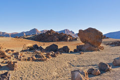 Mountains in the Canary Islands Stock Image