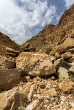 Mountains of the canyon Negev Desert in Israel Stock Photo