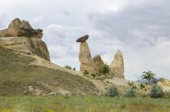 Mountains of cappadocia in turkey Stock Photos