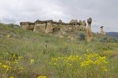 Mountains of cappadocia in turkey Royalty Free Stock Photos