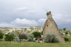 Mountains of cappadocia in turkey Royalty Free Stock Images