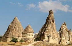 Mountains in Cappadocia Turkey Stock Image