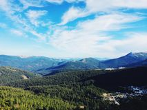 Mountains. Carpathian's in Ukraine Royalty Free Stock Images