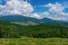 Mountains in Carpathians Royalty Free Stock Photo