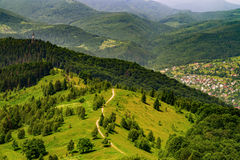 Mountains in the Carpathians Stock Images
